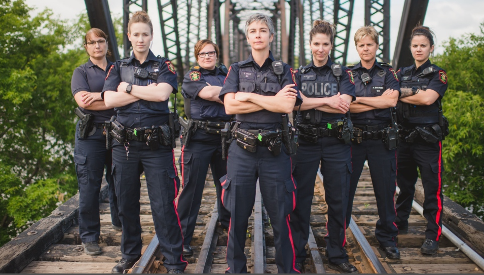 SASAKTOON -- Throughout Cst. Lisa Simonson's 21-year career as a police officer, she's wanted guidance from female law enforcement leaders.  She couldn't find anything formal, though. There were non-profits dedicated to female police and law enforcement officers in Alberta, British Columbia and Ontario, but no such organization existed in Saskatchewan. So she decided to help create one.