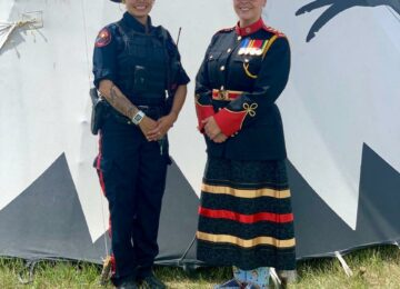 Blood Tribe Inspector speaks to Canadian police administrators about inequalities
