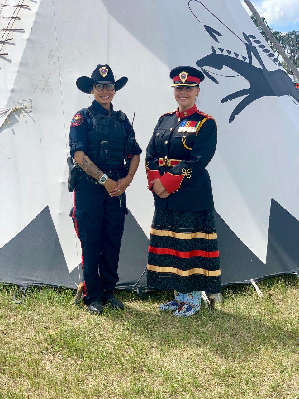 Blood Tribe Police Service inspector Farica Prince has been in policing since 2001. In that time, she has been a constable for two different indigenous police services and was an instructional facilitator for the RCMP. She has seen a lot and is a strong advocate for racial and gender equality within Canadian policing circles.